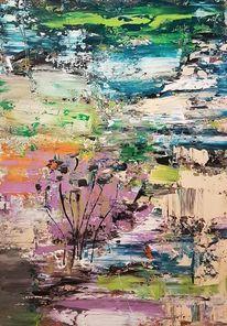 Zeitgenössische malerei, Abstrakte malerei, Moderne malerei, Moderne kunst