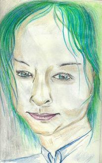 Zeichnung, Gesicht, Skizze, Zeichnungen