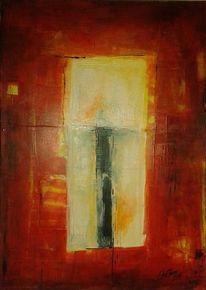 Licht, Gelb, Acrylmalerei, Kerzen
