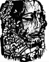 Wahnsinn, Traum, Psychose, Digitale kunst