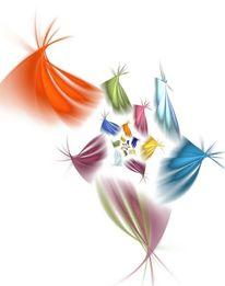 Blüte, Farben, Hoffnung, Fraktale computerkunst