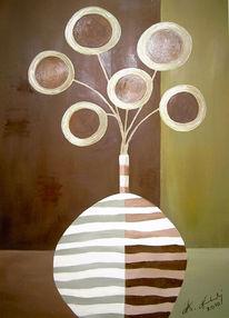 Kreis, Blumen, Pinnwand,