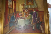 Gemälde maler bestimmen, Wert, Schach, Pinnwand