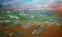 Conil, Wolken, Meer, Strand