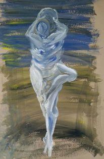 Vereinigung, Tanz, Symbiose, Paar