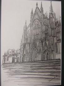 Kirche, Dom, Köln, Malerei