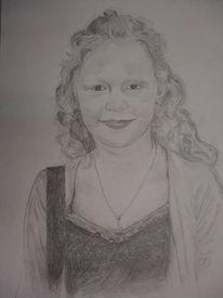 Mädchen, Zeichnung, Zeichnungen,