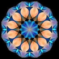 Geometrie, Abstrakt, Mischtechnik, Digitale kunst
