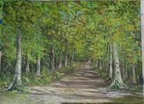 Landschaft, Landschaftsmalerei, Ostern, Malerei