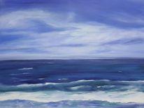 Nordsee, Welle, Sonne, Strand