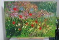 Gemälde, Ruhebild, Landschaft, Erholung