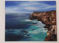 Felsen, Meer, Küste, Shetland