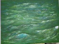 Wasser, Meer, Landschaft, Welle