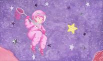 Illustration, Mädchen, Astronautin, Leipzig