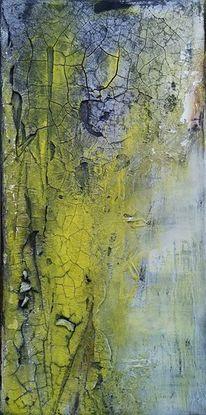 Gelb, Wandschmuck, Ölmalerei, Gemälde
