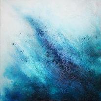 Blau, Pigmente, Marmormehl, Türkis