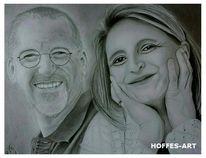 Paar, Mann, Frau, Portrait