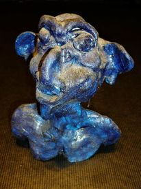 Büste, Keramik, Figural, Skulptur
