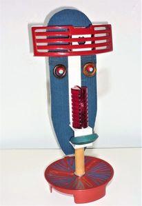 Montage, Skulptur, Assemblage, Plastik