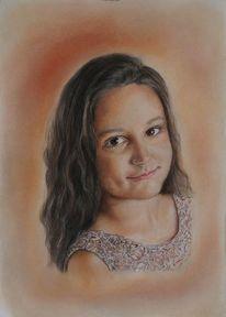 Portrait, Menschen porträt, Mädchen, Zeichnungen