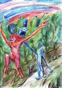 Morphismus, Wasserlöslich, Illustration, Draußen
