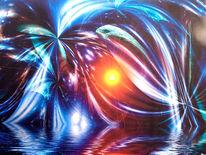 Dimension, Mischtechnik, Farben, Formen