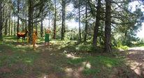 Griechische mythologie, Wald, Digitale malerei, 3d