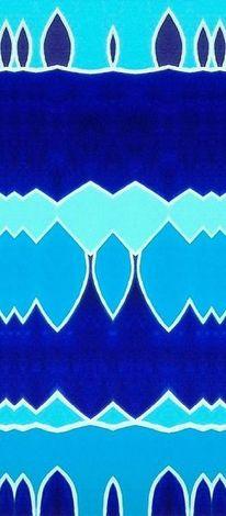 Abstrakt, Blau, Bschoeni, Digitale kunst