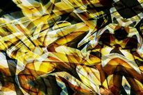 Bschoeni, Abstrakt, Knallig, Wandmalerei