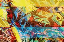 Knallig, Bschoeni, Farben, Graffiti