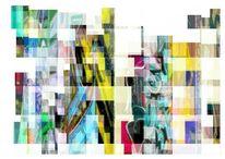 Bunt, Fassade, Bschoeni, Abstrakt