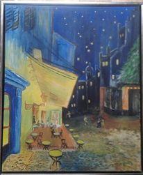 Abend, Nachtcafe, Vincent van gogh, Südfrankreich