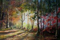 Natur, Malerei, Kunstwerk, Landschaft