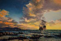 See, Ölmalerei, Malerei