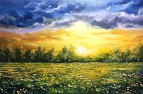 Natur, Grigorev, Malschule, Malerei