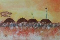 Samen, Malerei, Ölmalerei, Hand