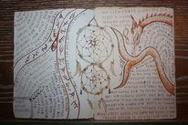 Füller, Schrift, Buch, Zeichnung