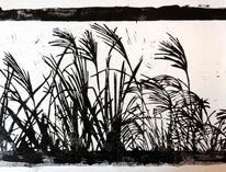 Gras, Nebenbeigekritzel, Licht und schatten, Jahreszeiten