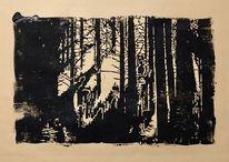 Wald, Lichtblick, Baum, Licht