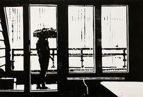 Draußen, Ruhe, Balkon, Einsamkeit
