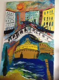 Malerei, Venedig und rom, Landschaft, Venedig
