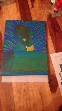 Braun, Farben, Leidenschaft, Grün