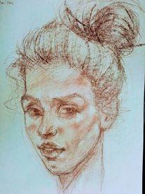 Skizze, Zeichnung, Portrait, Zeichnungen