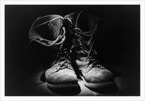 Abgelaufen, Stiefel, Schuhe, Treter