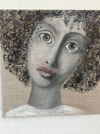 Erwartung, Frau, Portrait, Göttin
