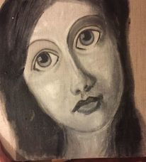 Pigmente, Frau, Göttin lilith, Malerei