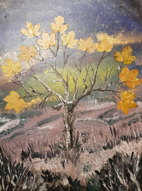 Malerei, Natur, Surreal, Mischtechnik