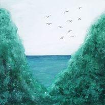 Ozean, Ruhe, Hoffnung, Yoga