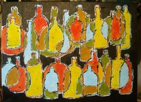 Abstrakt, Acrylmalerei, Stillleben, Preis vh