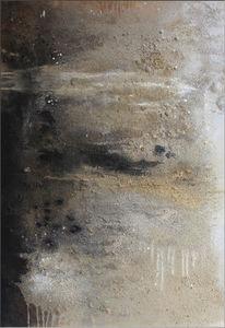 Natur, Abstrakt, Landschaft, Malerei